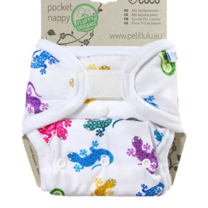 Petit Lulu All in One - Geckos mit Klett
