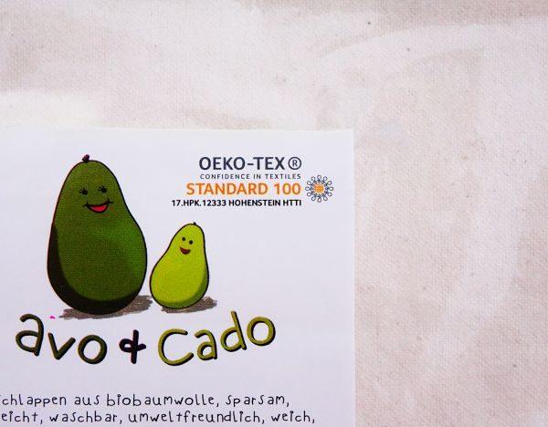 Avo&Cado Flanellwaschlappen mit Frottee2