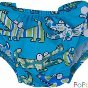 Popolini Schwimmwindeln Badewindel Babybadehose Crocos