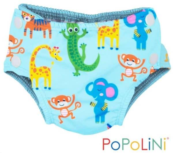 Popolini Schwimmwindeln Badewindel Babybadehose Zoo