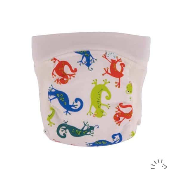 Popolini Stoffwindeln Windelfrei EasyFree Geckos